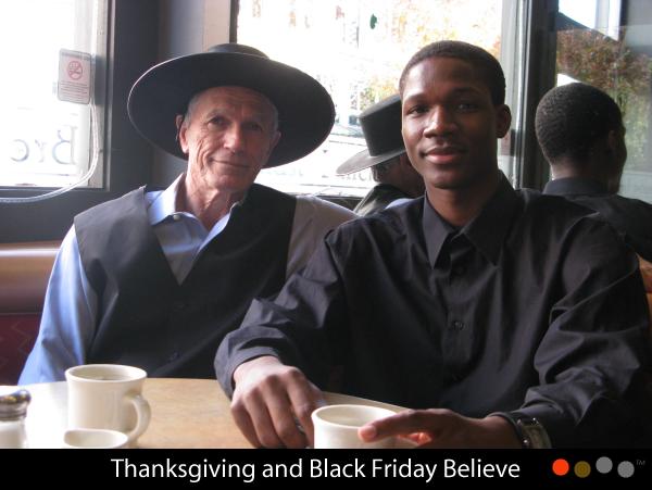 Thanksgiving & Black Friday Believe - MARCHVEGAS