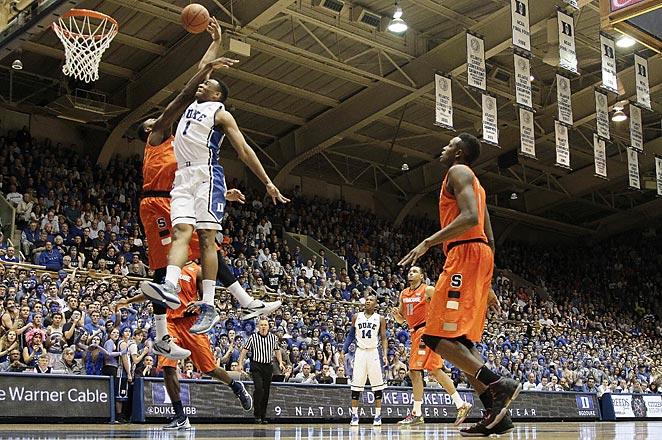 Duke over Syracuse